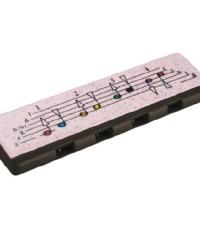 Detalhes do produto Harmonica Speedy Preto e Branco - HOHNER