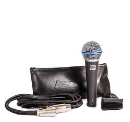Detalhes do produto Microfone com fio supercardioide - LM-B58A - Lexsen