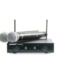 Detalhes do produto Microfone sem fio Bi-Volt - LM-WM258 - Lexsen