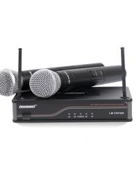 Detalhes do produto Microfone sem fio Bi-Volt - LM-VHF258 - Lexsen