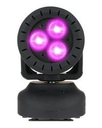 Detalhes do produto Moving Head RGBW 3W 4 em 1 - PLANET MOVE - PLS