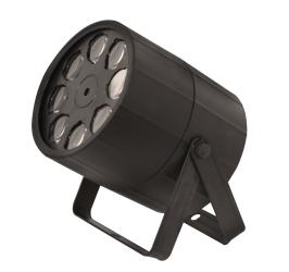 Detalhes do produto Projetor de Luz 8 LEDs 5W RGBW - ORBITER LED - PLS