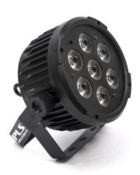 Detalhes do produto Refletor - POWER LED RGBWA 7LEDS 12W - PLS