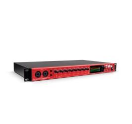 Detalhes do produto Interface de Audio Thunderbolt Clarett 8PRE 18/20 -FOCUSRITE