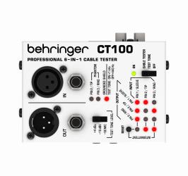 Detalhes do produto Testador de cabos Behringer - CT100