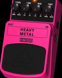 Detalhes do produto Pedal para guitarra - HM300 - Behringer