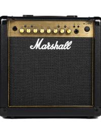 Detalhes do produto Combo para guitarra 15W - MG15GFX GOLD - MARSHALL