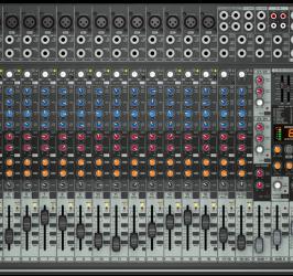 Detalhes do produto Mixer EuroDesk BiVolt - SX2442FX - Behringer