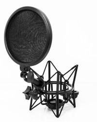 Detalhes do produto Kit com Shockmount e Pop Filter - LSM-18 Kit - Lexsen