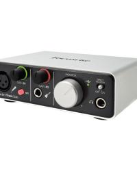 Detalhes do produto Interface de Audio - ITRACK SOLO LIGHTNING - Focusrite