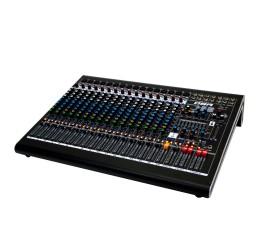 Detalhes do produto Mesa de som de 16 canais com efeitos e interface de gravacao - DM16 USB - DBR