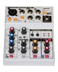 Detalhes do produto Mesa de Som 4 Canais, Efeitos/Interface - REC 4 - Lexsen