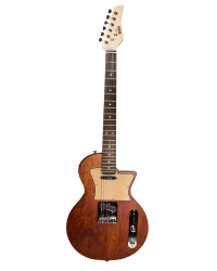 Detalhes do produto Guitarra Les Paul Newen - Frizz Cedar - Cor Natural