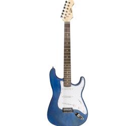 Detalhes do produto Guitarra Strato Newen - ST Blue Wood - Cor Azul