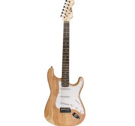 Detalhes do produto Guitarra Strato Newen - ST Natural Wood - Cor Natural