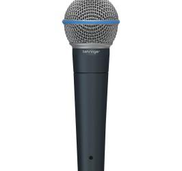 Detalhes do produto Microfone dinamico super cardioide - BA 85A - BEHRINGER