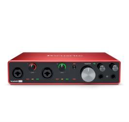 Detalhes do produto Interface de audio - Scarlett 8I6 - Focusrite