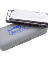 Detalhes do produto Kit Harmonica Special 20 - C, D, E, G, A - HOHNER