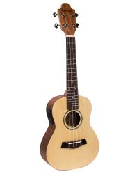 Detalhes do produto Ukulele Benson Concert Solid Spruce eletrico 24 - UB-24SE