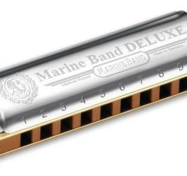 Detalhes do produto Harmonica Marine Band Deluxe - A (LA) - HOHNER