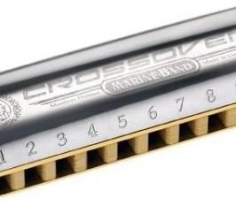 Detalhes do produto Harmonica Marine CrossOver - G (SOL) - HOHNER