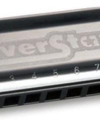 Detalhes do produto Harmonica Silver Star 504/20  - G (SOL) - HOHNER