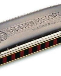 Detalhes do produto Harmonica Golden Melody 542/20 - D (RE) -HOHNER