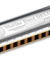 Detalhes do produto Harmonica Marine Band Deluxe 2005/20 - E (MI) - HOHNER