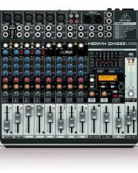 Detalhes do produto Mixer com 12 canais BiVolt - QX1222USB - Behringer