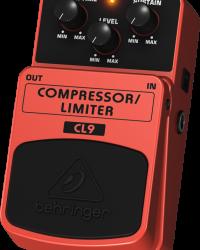 Detalhes do produto Pedal para guitarra - CL9 - Behringer