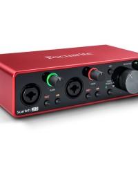 Detalhes do produto Interface de audio - SCARLETT 2I2 - FOCUSRITE