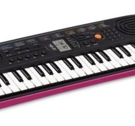 Detalhes do produto Teclado Musical Infantil Casio Sa 78 Rosa 44 Teclas