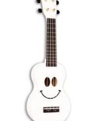 Detalhes do produto Ukulele Soprano Serie Smile - Cor Branco