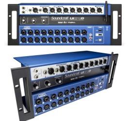 Detalhes do produto Mesa de Som Digital Soundcraft UI24r Multipista UI24