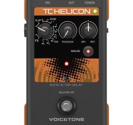 Detalhes do produto Processador de voz - Voicetone E1- TC HELICON