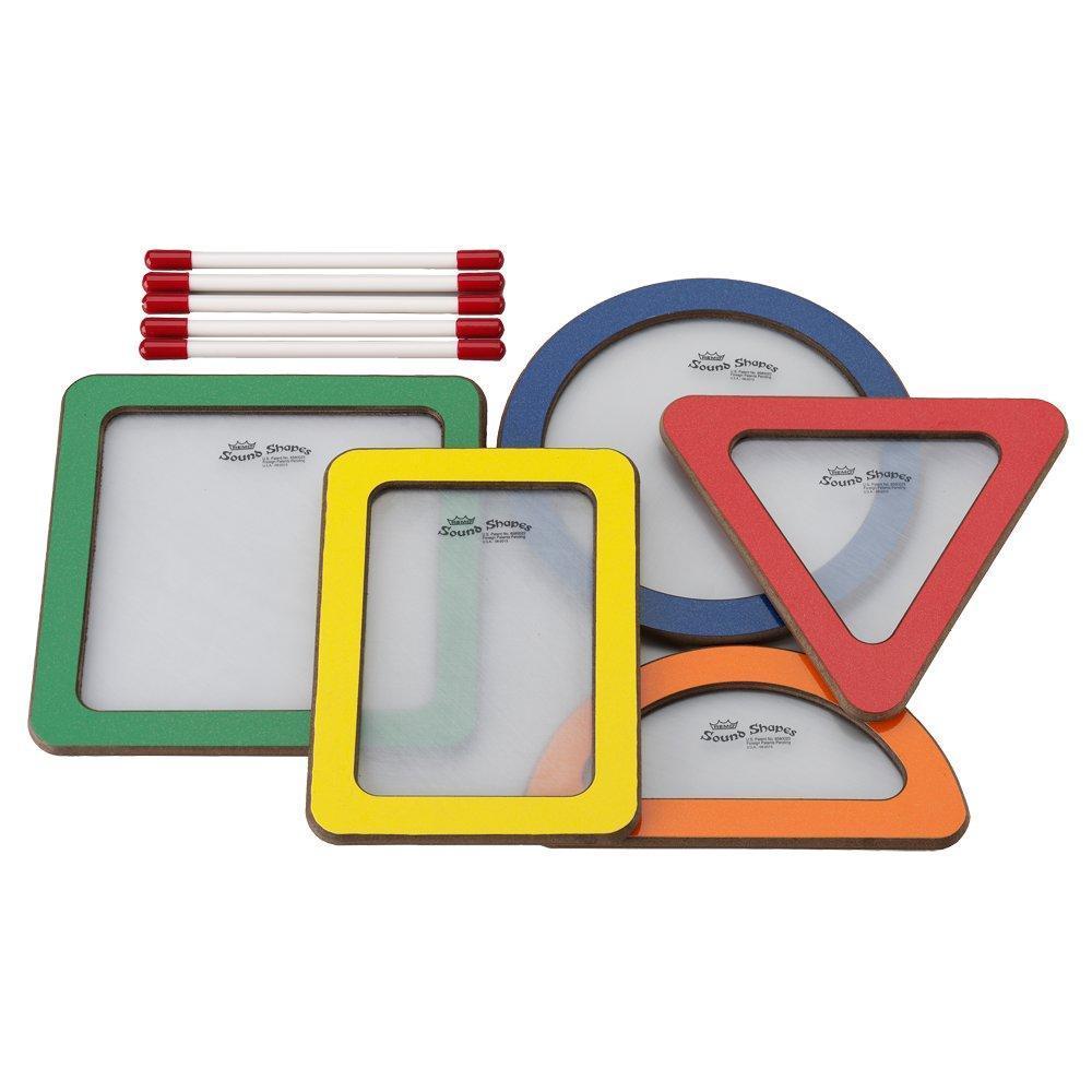 Remo Sound Shapes® Formas geométricas - kit com 5