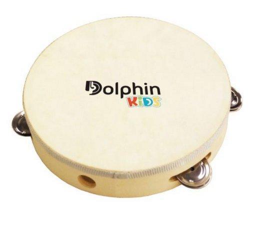 Pandeiro Infantil Dolphin Kids