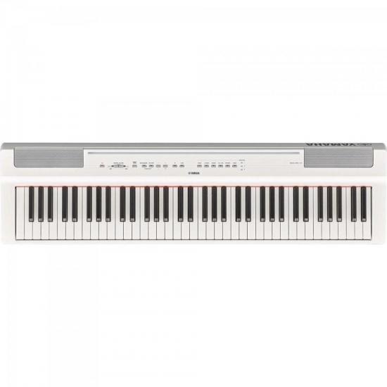 Piano Digital P121WH Branco YAMAHA