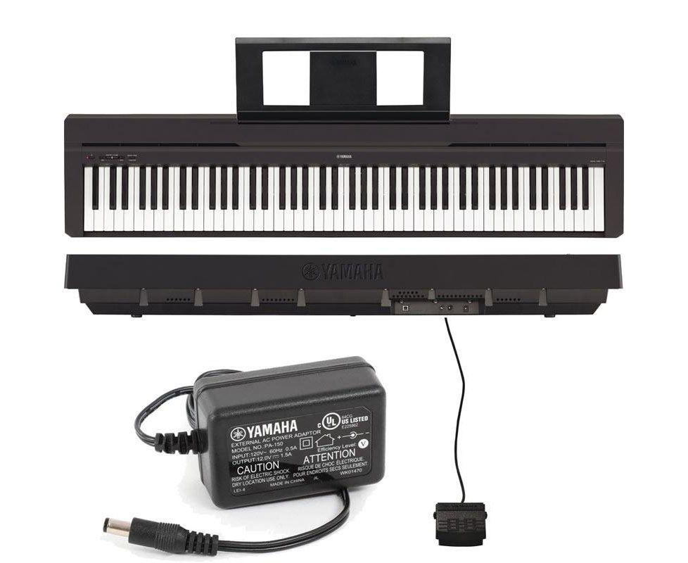 Piano Digital P-45 Preto YAMAHA