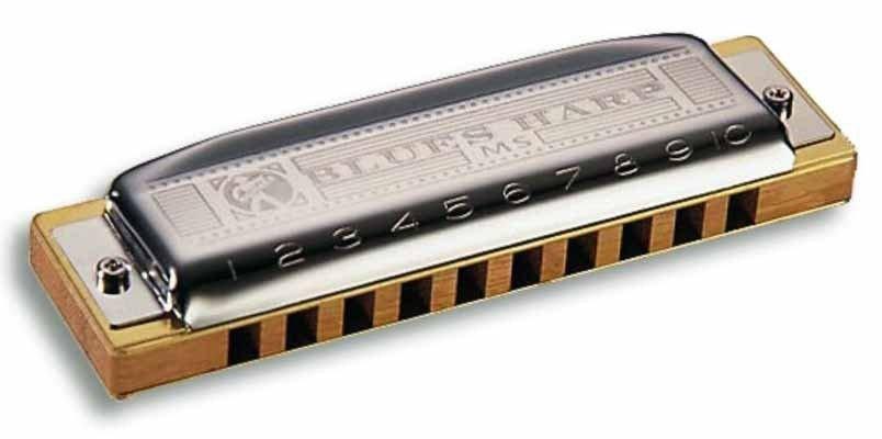Harmonica Blues Harp 532/20 MS - D (RE) - HOHNER