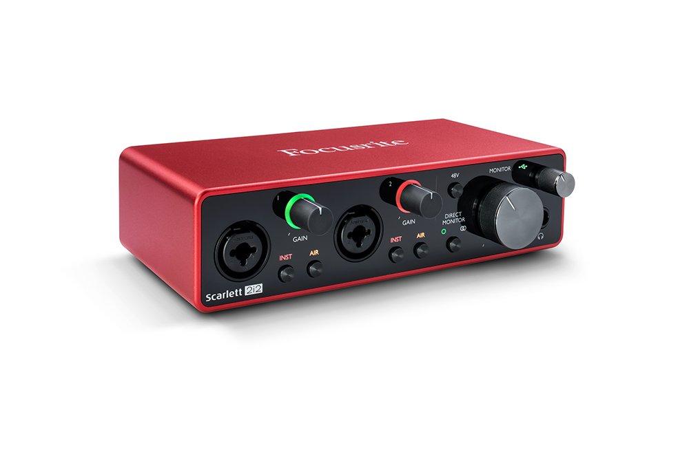 Interface de audio - SCARLETT 2I2 - FOCUSRITE