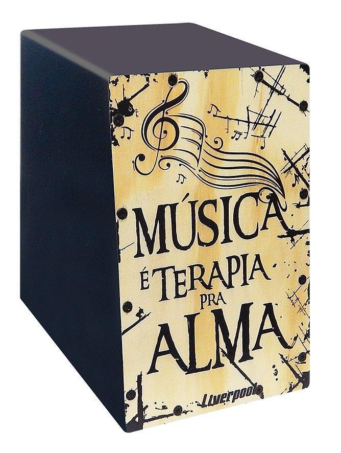 Cajon Elétrico Master - Musica Terapia Cm Musica M